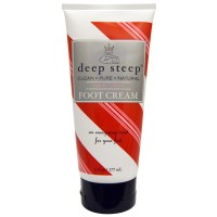 Deep Steep, フットクリーム, キャンディーミント(177 ml)