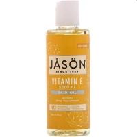 Jason Natural, ジェイソン, ビタミン E 5,000 I.U., スキンオイル, 4液量オンス (118 ml)