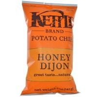 Kettle Foods, ポテトチップス、ハニーディジョン、5 oz (142 g)