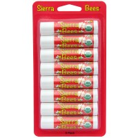 Sierra Bees, オーガニック・リップクリーム、ザクロ
