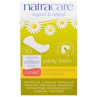 Natracare, ナチュラルパンティーライナー カーブおりもの用ライナー30枚入り
