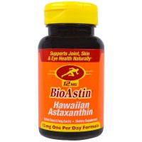 Nutrex Hawaii, BioAstin, Hawaiian Astaxanthin, 12 mg, 50 Gel Caps