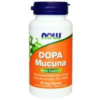 Now Foods, ドーパムクナ(Dopa Mucuna), 90粒